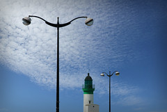 Le Trport (mjiwill) Tags: sea mer lighthouse france coast pier seaside meer cte normandie normandy phare leuchtturm letrport 76 habour lamanche seinemaritime hautenormandie litora ctenormande ctepicarde englishcannel