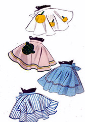 B6745Gallery (sandritocat) Tags: vintage pattern apron international 1950s apples collectible supplies applique freeshipping quickandeasy halfapron sandritocat butterick6745