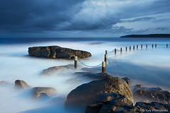 Mahon Pool, Maroubra, Australia (-yury-) Tags: ocean longexposure sea sky seascape water pool rock clouds sunrise sydney australia maroubra supershot abigfave