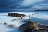 Mahon Pool, Maroubra, Australia (-yury-) Tags: ocean longexposure sea sky seascape water pool rock clouds sunrise sydney australia maroubra supershot abigfave