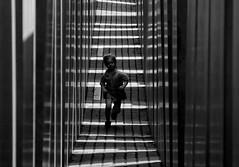 (ssj_george) Tags: leica light boy people berlin monument shirt germany lumix holocaust kid memorial europe shadows child stones running panasonic between georgestavrinos fz28 ssjgeorge γιώργοσσταυρινόσ