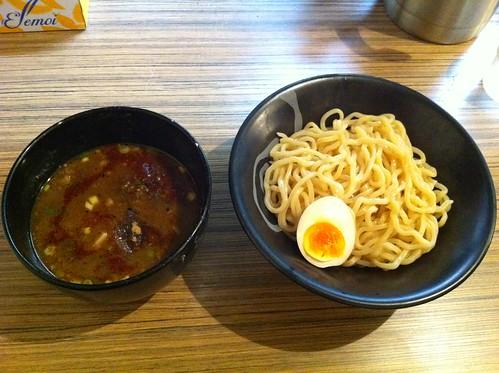 味噌つけ麺 (久保田)