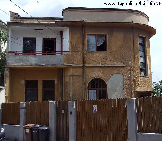 Art Deco in Ploiesti - Casa pe strada Artei