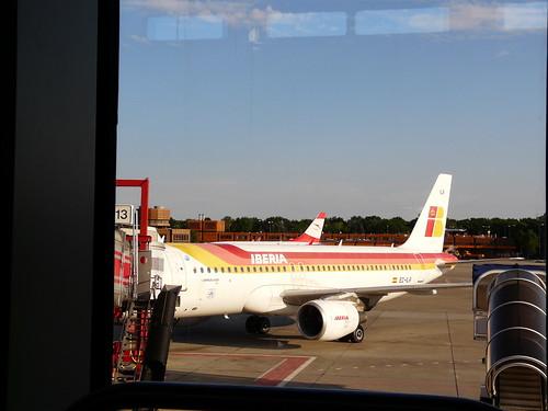 El avión que nos traería de vuelta