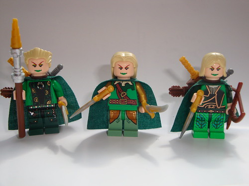 Elves custom minifigs
