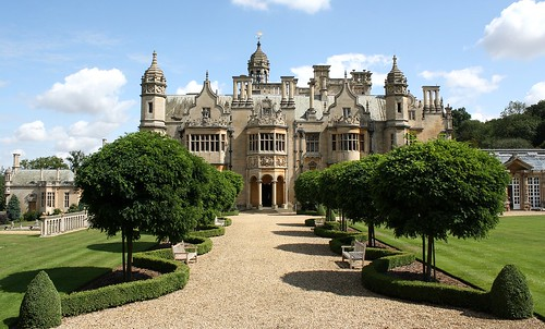 Harlaxton Manor Garden Elevation