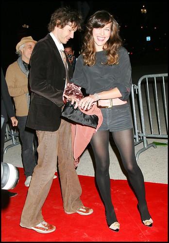 Milla jovovich pantyhose for