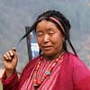Monpa woman (Uli_Germany) Tags: india buddhist monastery valley tribe pradesh arunachal tawang arunachalpradesh monpa buddhisem
