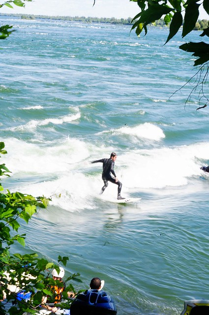 Surfers in lasalle!