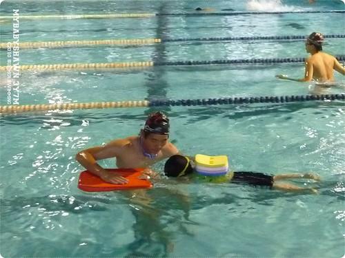 3Y7M 2010游泳紀錄 漂浮換氣