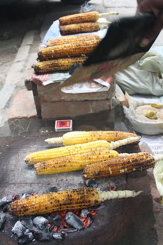 City Food – Bhutta, Delhi Streets