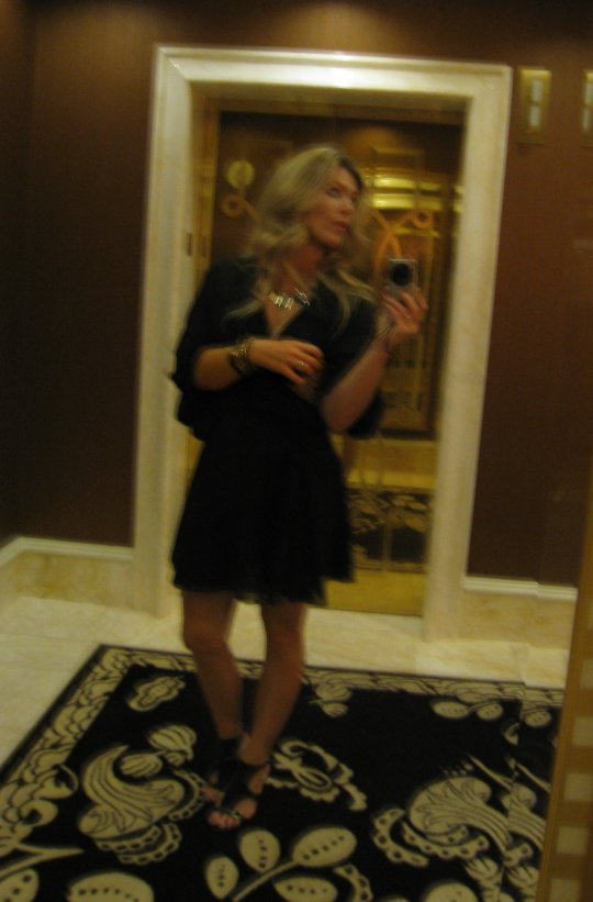 What I wore to the dinner at Botero