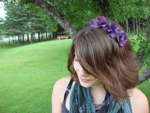 multi-flower headband