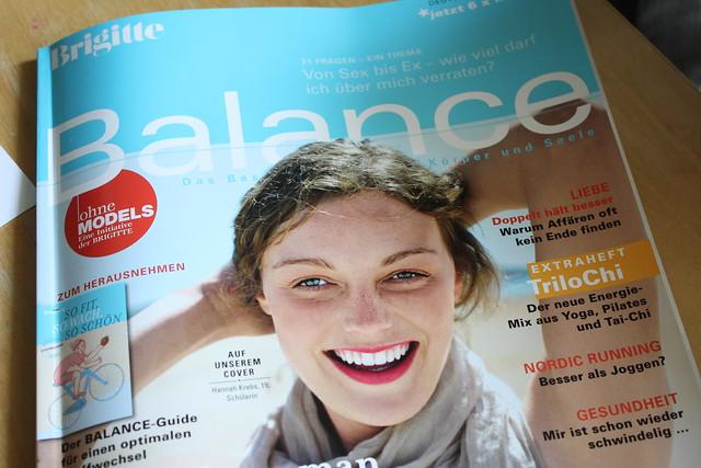 Brigitte Balance Seite 8!