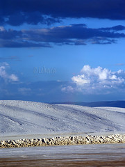 White Sands National Monument (leheria) Tags: sunset white reflection monument crust rainbow mint slide sumac basin national rosemary sands carlsbad sled gypsum alamogordo yucca hobbs cloudcroft gaudalupe cyanobacteria interdune soaptree tularosa