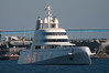 Yacht A in San Diego Bay (SBGrad) Tags: aperture nikon sandiego yacht nikkor 2010 alr d90 blohmvoss superyacht tc17eii 80200mmf28dafs motoryachta blohmvossgmbh
