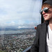 Christian Looking Down Upon Rotorua, New Zealand from the Skyline- Explorica