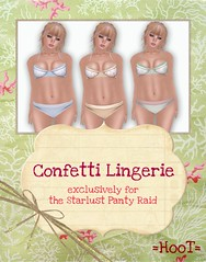 =HooT= Confetti Lingerie AD