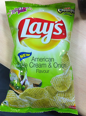 """American style"" chips"