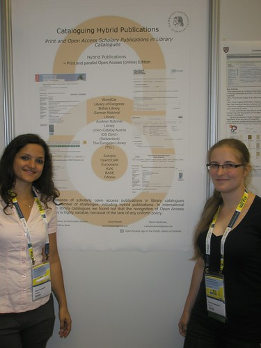 """Cataloguing Electronic Resources between Theory and Practice - The appearance of free available Scholarly Open Access Publications in Library Catalogues Worldwide in the Example of Hybrid Publications"" Presenter: Maria Staufenbiel, Germany & Aline Hötzeldt, Germany"
