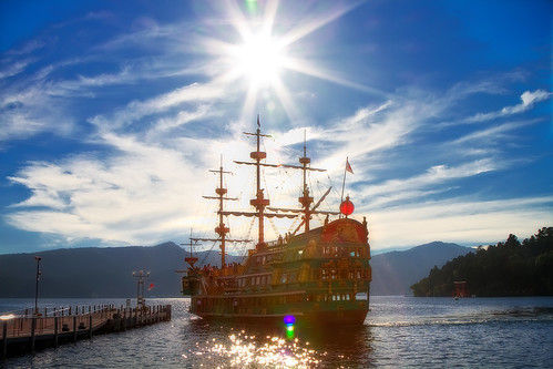 Pirate Ship Under The Sun