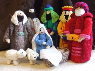 Knitting Pattern Christmas Crib Nativity Scene Booklet : Ravelry: Christmas Crib pattern by Jean Greenhowe