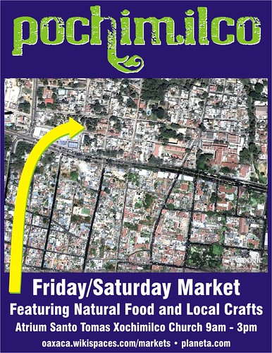 Meet me at the Pochimilco Market (Free Flyer)