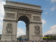 Arc de Triomphe: Paris, France (`Jenna`) Tags: paris france de arc triomphe peopletopeopletrip