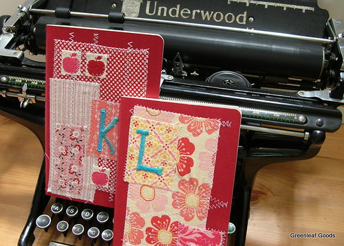 Moleskine journals for Laura and Karen
