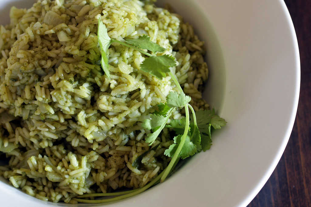 Green Poblano Rice