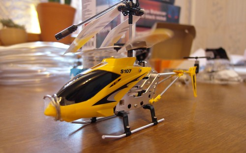 Syma S107 3ch RC helicopter / Metal Series