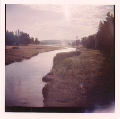 Diana camera - 120 film - Yellowstone river