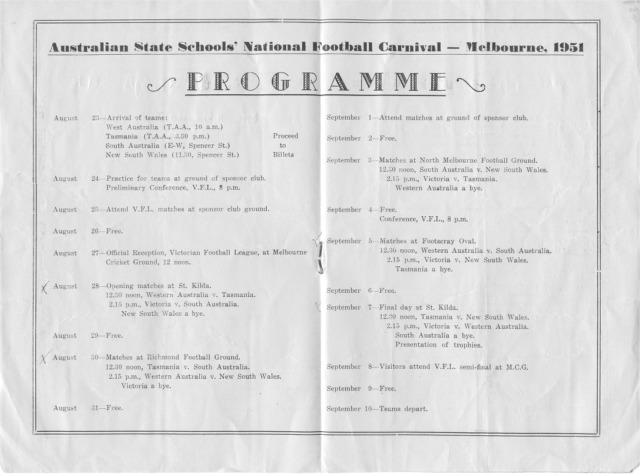 1951 programme