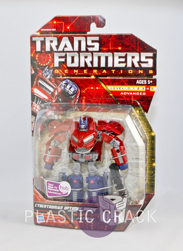 TF Generations Cybertronian Optimus Prime