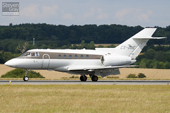 CS-DUE - HB-0011 - Netjets Europe - Hawker Beechcraft 750 - Luton - 100811 - Steven Gray - IMG_1335