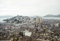 Macau - from old fort - 30 Dec 53 (Phil Roeder) Tags: color zeiss asia 1950s kodachrome ikon koreanwar contessa scancafe