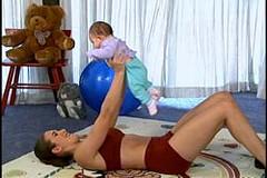 çocuklu kadınlar için egzersiz