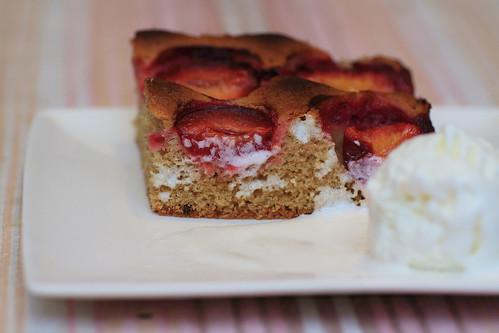 slyvų pyragas
