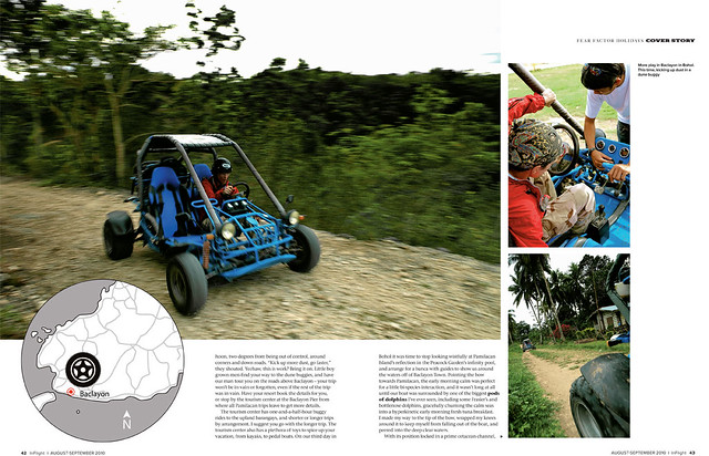 Buggy Ride at the rough trails of Baclayon