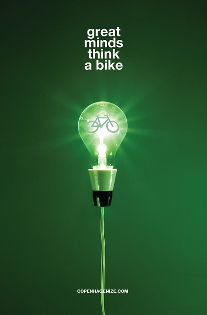 Great Minds Think a Bike