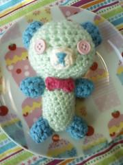 Mini Amigurumi Bear (Puanani Bunny) Tags: bear cute forsale sweet crochet adorable yarn cupcake kawaii buy amigurumi