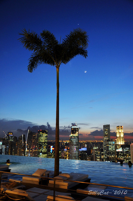 Infinity pool@Marina Bay Sands Singapore-0m