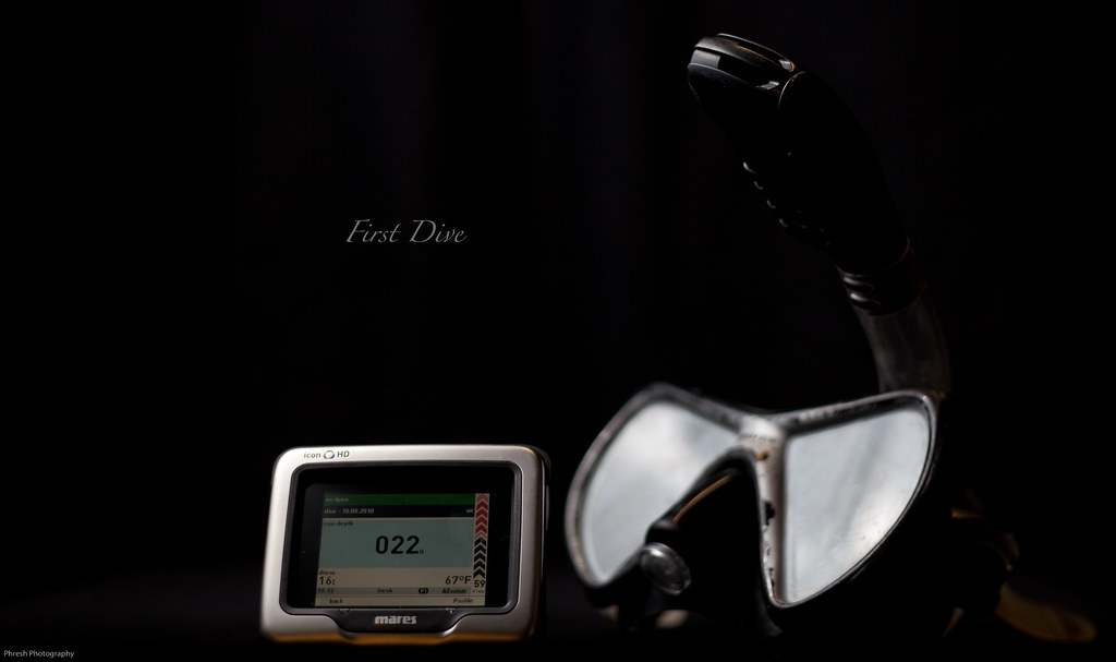 230/365 - First Dive