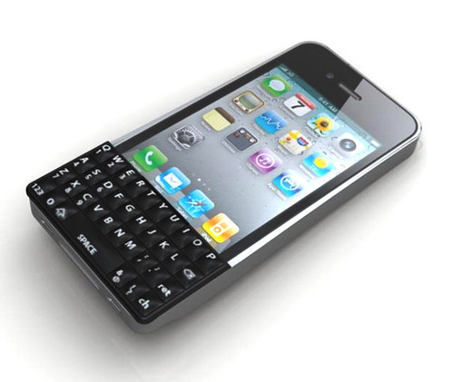 iPhone 4 Snap-On Qwerty Keyboard