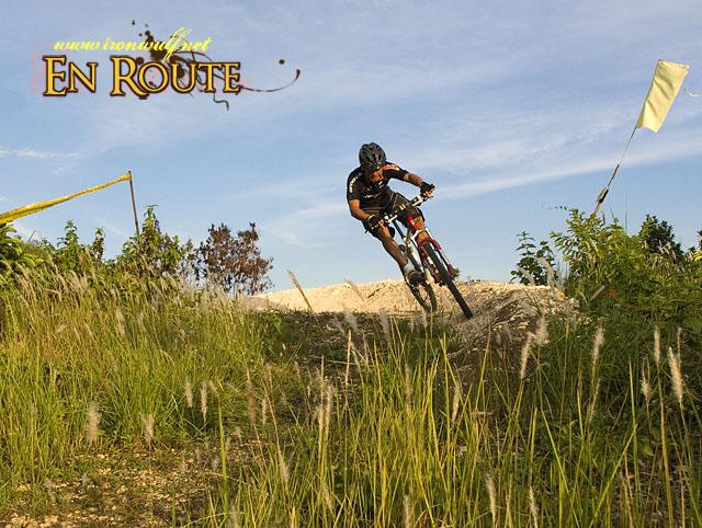 Roel at Mongo-ol Bike Park at Baclayon Bohol