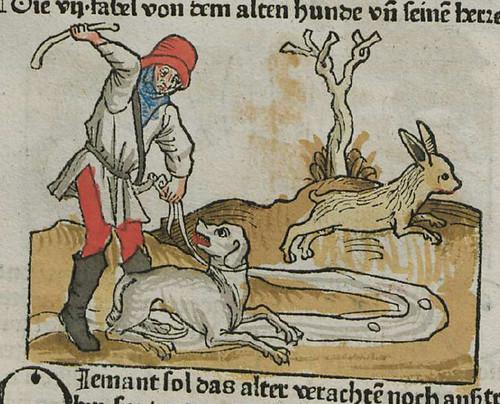 canis antiquus et eius dominus