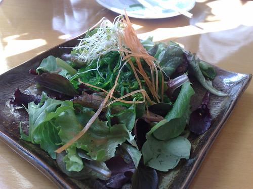 Seaweed salad at Kibou