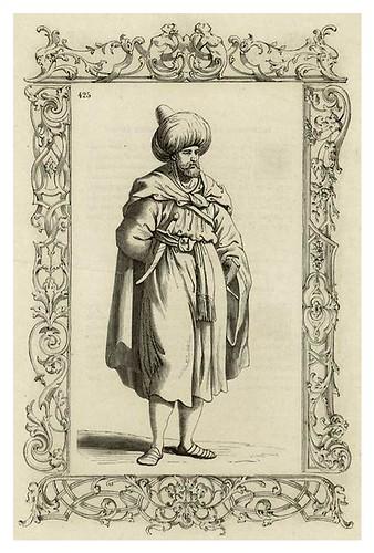 019-Noble armenio siglo XVI-Habiti antichi et moderni di tutto il mundo- Cesare Vecellio