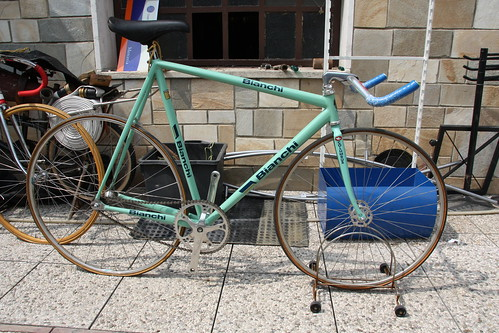 BIANCHI pursuit track bike
