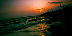 Morning already (Rossen Georgiev) Tags: morning sun silhouette sunrise blacksea
